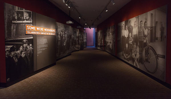 <p>Learn about all exhibitions on display at the Museum, including our Permanent Exhibition, the Holocaust</p>