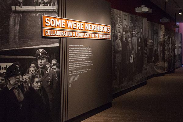 <p>Learn more about the Museum's Permanent Exhibition, The Holocaust, and the other exhibitions currently on display</p>