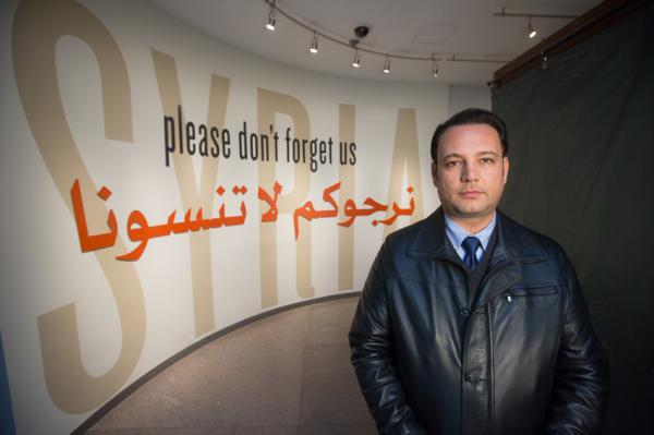 <p>Using video, music, and testimony, this exhibition introduces visitors to the conflict in Syria through one man's story.</p>