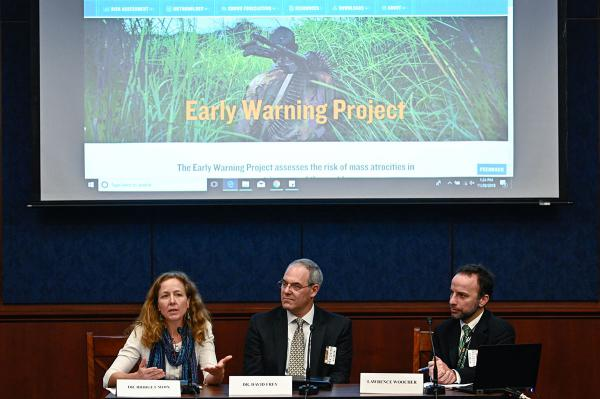 <p>The Early Warning Project uses state-of-the-art research methods to identify countries at risk for mass atrocities.</p>