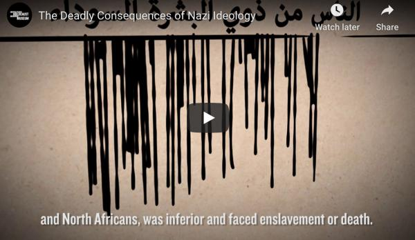 <p>This short film, available in Arabic, explains Nazi racial ideology and how it led to the Holocaust.</p>