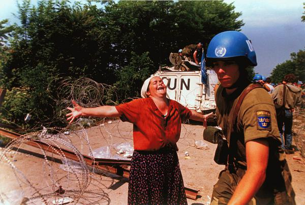 <p>An estimated 100,000 people were killed during the conflict in Bosnia between 1992 and 1995.</p>