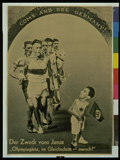nazi propaganda and the 1936 olympics By 1936, the nazis had control over germany and had already begun to implement their racist policies there was international debate as to whether the 1936 olympics in nazi germany should be boycotted.