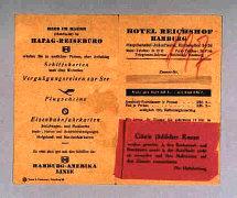 """Плакат из отеля """"Рейхсхоф"""""""