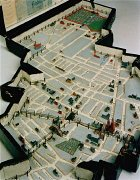 Lodz ghetto model