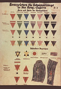 Chart of Prisoner Markings