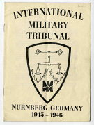 International Military Tribunal booklet cover