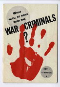 """What shall be done with the war criminals?&qu..."