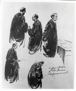 Edward Vebell courtroom sketch