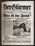 """Número 29 do jornal """"Der Stuermer de julho de..."""