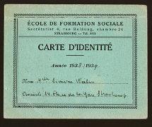 A falsa carteira de estudante de Simone Weil