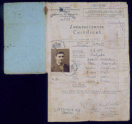 Polish citizenship certificate issued to Samuel Sol...