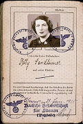 Page 2 of passport issued to Setty Sondheimer