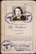 Page 2 du passeport délivré à Setty Sondheimer