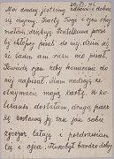 Carte postale envoyée à Ruth Segal (dos)