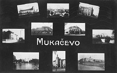 Postcard of Munkacs