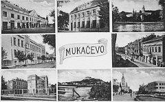 Postcard of Munkacs