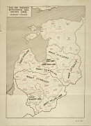 German Map of the Baltic Countries