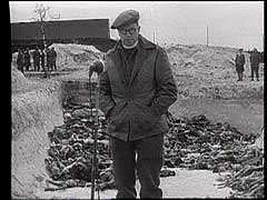 Liberation of Bergen-Belsen<br />Germany, April 1945<br />