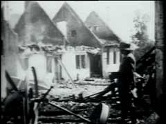 Destruction de Lidice<br />Lidice, Tchécoslovaquie, Eté 1942<br />