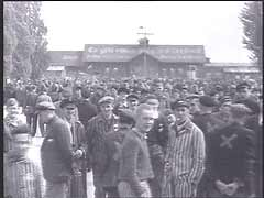 Liberation of Dachau<br />Dachau, Germany, April 1945<br />
