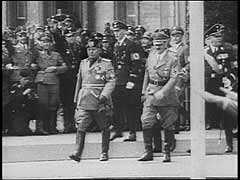 Mussolini incontra Hitler in Germania