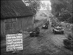 Germany invades Poland<br />Poland, September 1939<br />