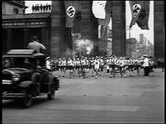 Opening of 1936 Summer Olympic Games<br />Berlin, Germany, August 1, 1936<br />