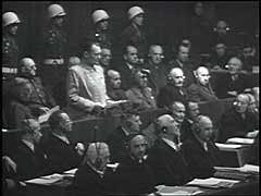 Defendants enter pleas at Nuremberg Trial