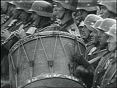 German victory parade in Warsaw<br />Warsaw, Poland, October 1939<br />