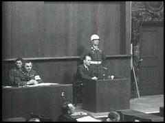 Albert Speer testifies at Nuremberg