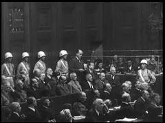 Albert Speer makes final statement at trial
