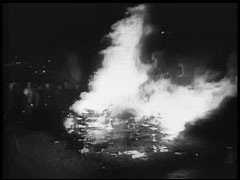 """The Nazi Plan"": Book Burning<br />