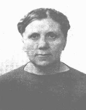 Lithuanian librarian Ona Simaite took food to Jews in the Vilna ghetto, helped hide many Jews outside the ghetto, and saved valuable Jewish literary and historical materials. Vilna, 1941.