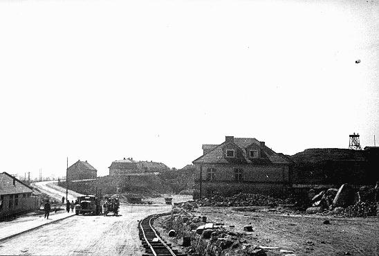 A section of the Plaszow camp. Plaszow, Poland, 1943-1944.