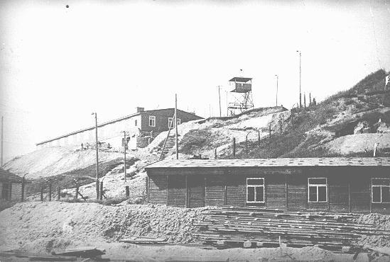 View of the Plaszow concentration camp. Plaszow, Poland, 1943–1944.