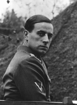 Nazi physician Karl Brandt, director of the Euthanasia Program. August 27, 1942.