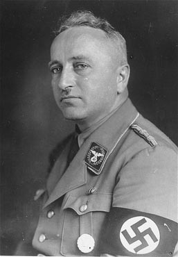 Portrait of Robert Ley.