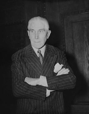Defendant Franz von Papen.