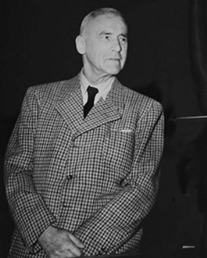 Defendant Wilhelm Frick, former German Minister of the Interior.