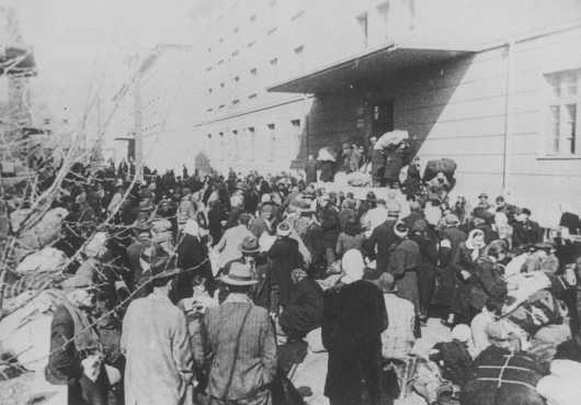 Deportation of Jews. Skopje, Yugoslavia, March 1943.