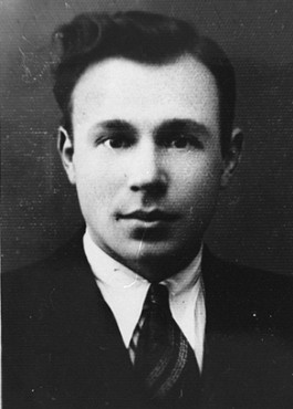 Ignac Shepetis helped members of the Jewish underground escape from the Kovno ghetto and join partisans in the Rudniki Forest near Vilna. Kovno, Lithuania, 1943-1944.