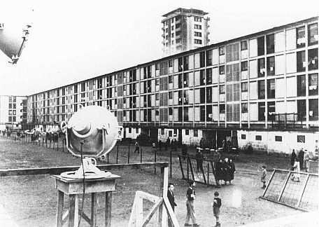 ドランシー収容所のユダヤ人捕虜。 フランス、1941年〜1944年。