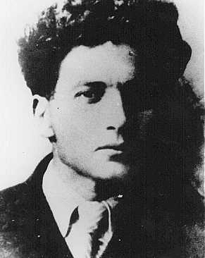 Mikhael Guebelev, organizer of the underground group in the Minsk ghetto. Soviet Union, date unknown.