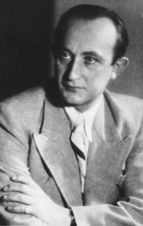 Retrato de George Mandel-Mantello.