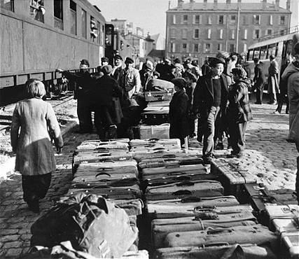 Children During The Holocaust Photograph
