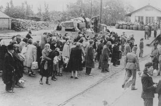 Deportation In The Holocaust. Deportation of Jews.