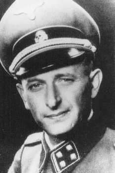 Adolf Eichmann, SS official in charge of deporting European Jewry. Germany, 1943.