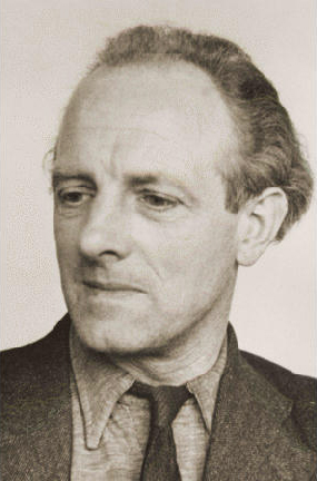 Joop Westerweel, schoolteacher executed by the Nazis for helping Jews escape from the Netherlands.