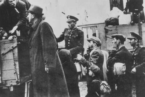 Deportation of Slovak Jews. Stropkov, Czechoslovakia, May 21, 1942.